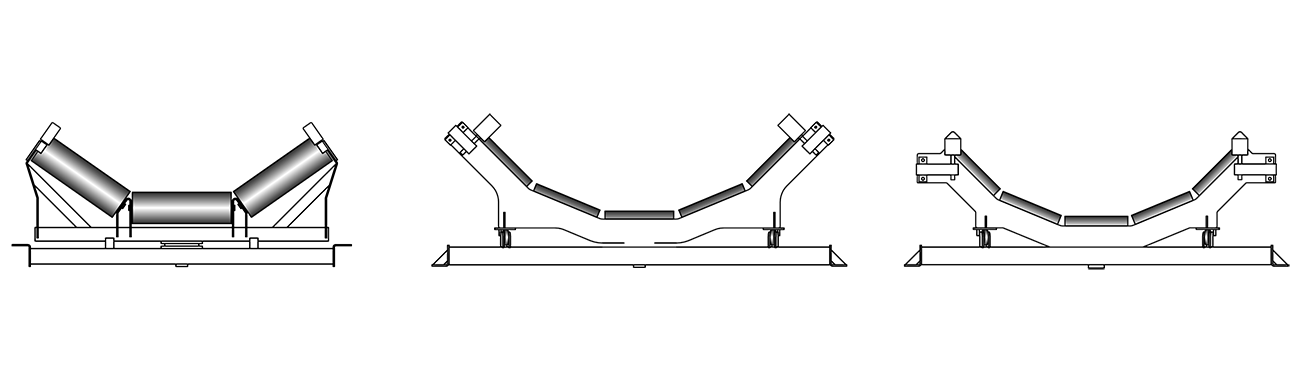 RKM Rollers Trough Trainer - Pivoting Idler Frame