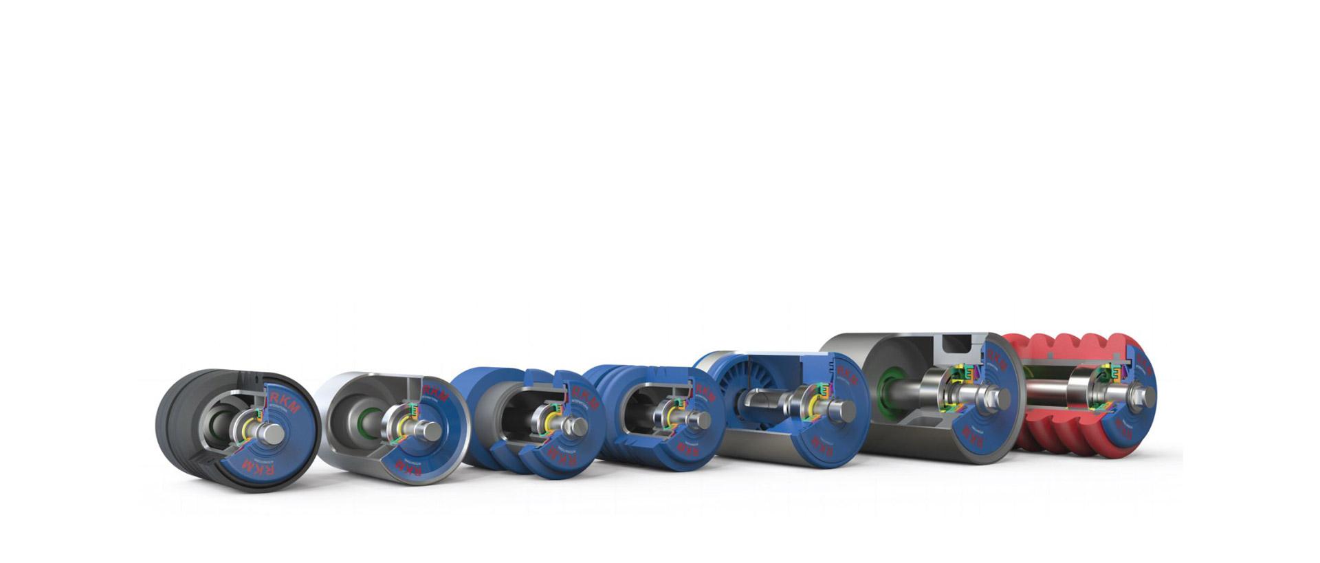 RKM International Roller Company - Roller Range